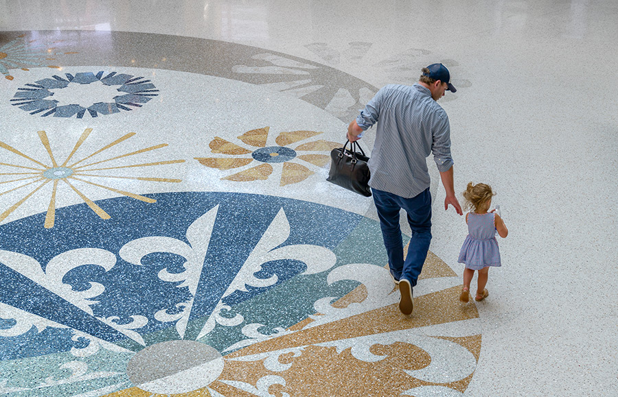 Louisville_International_Airport_Terrazzo_Floor