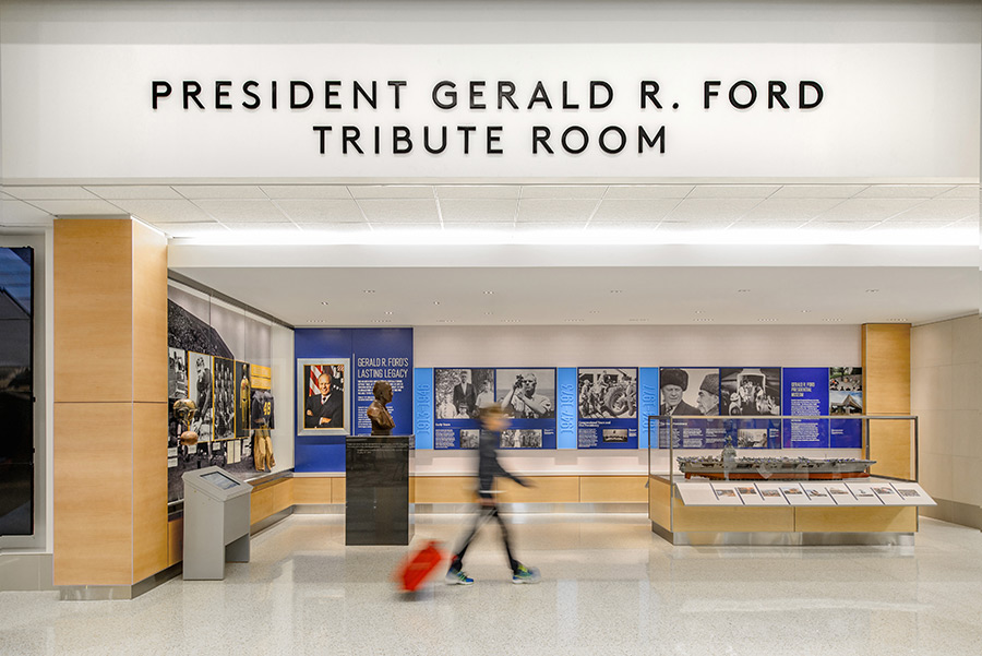 Gerald_R_Ford_International_Airport_Tribute_Room